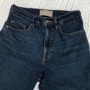 Everlane high waisted skinny jeans